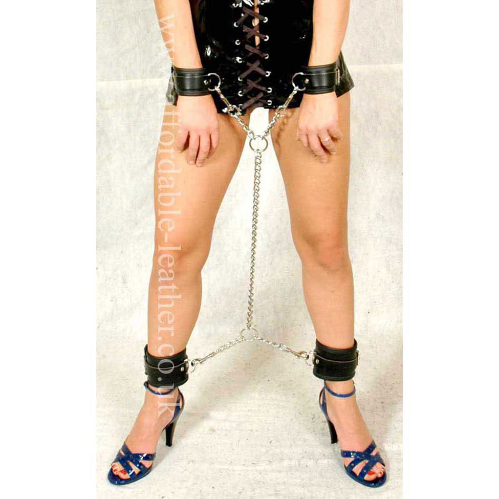ACC 02 Set - Chain to Wrist and Ankle Cuffs Set