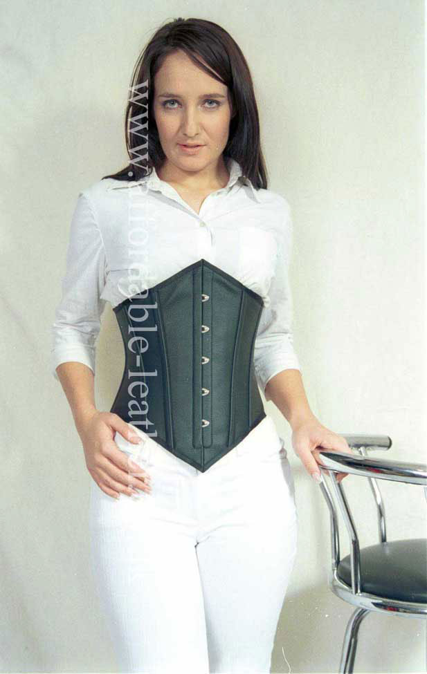 CORS 4 - Hipster - Under Bust Leather Corset
