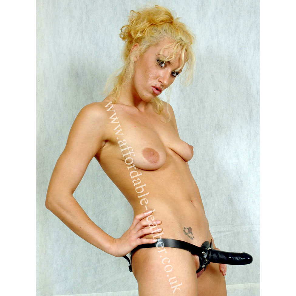 HAR 13 - Leather Strap-on Dildo Harness