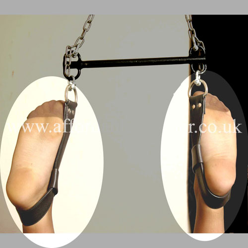 SUSP BAR 1 - Metal Bondage Suspension Bar 12 inch (30cm)